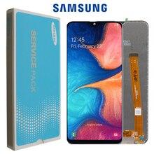"""5,8 """"оригинальный AMOLED для Samsung Galaxy A20e LCD SM A202F/DS A202 A202DS с рамкой сенсорный экран дигитайзер в сборе + Сервисный пакет"""
