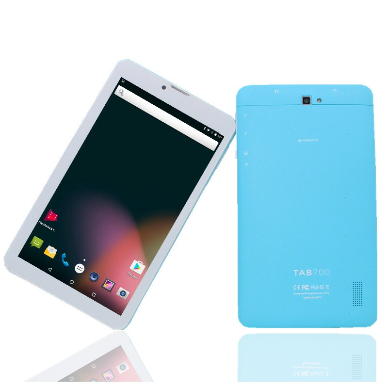 7 Inch MTK8735  Android 6.0 1GB/8GB HDI 1024x 600  Blue Tablet HD IPS Sreen