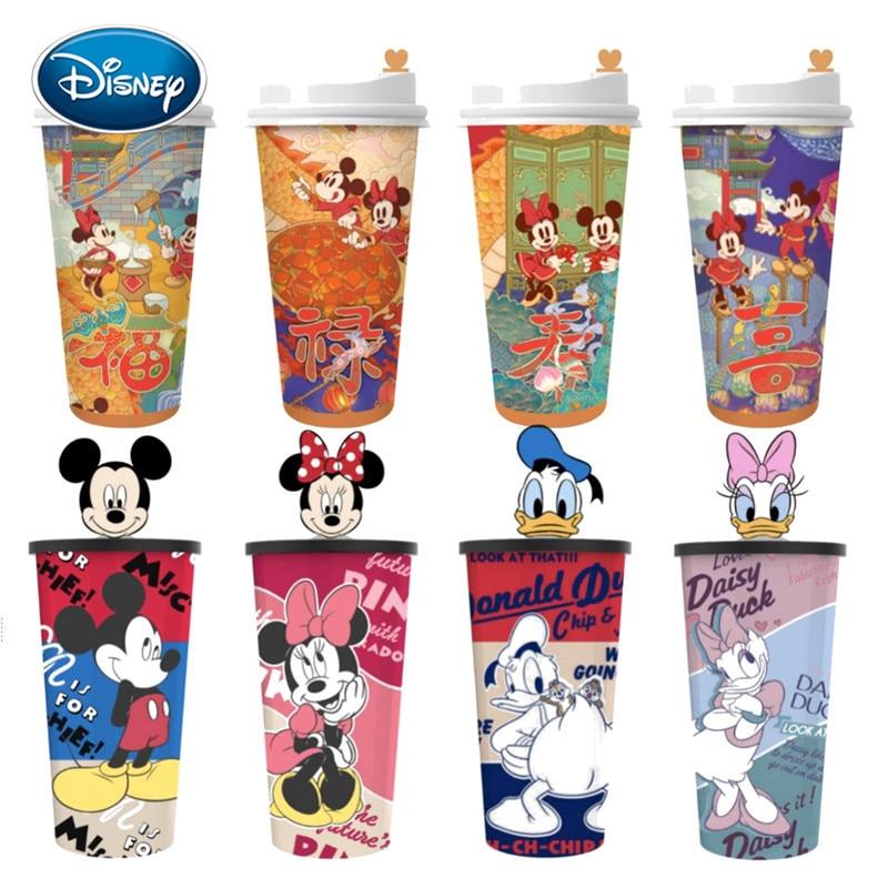Tasse à café tasse à café dessin animé | Disney Mickey Minnie tasse de café, tasse à boisson secouante, tasse Cola imprimée, poupée périphérique de film