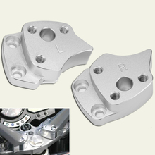 цена на For Yamaha FJR1300 2001-2005 Handlebar Riser Clamp Handle Bar Riser Mount Bracket For Yamaha FJR 1300 2001 2002 2003 2004 2005