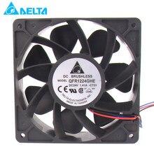 Qfr1212ghe QFR1212GHE-PWM 4p 24v 1.41a 12038 ventilador de refrigeração do servo 120*120*38mm para o delta