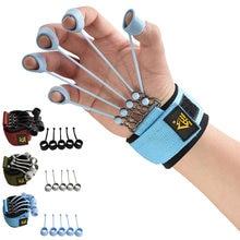 Dedo pinça força trainer extensor exercitador dedo flexão e extensão dispositivo de treinamento com faixa de resistência