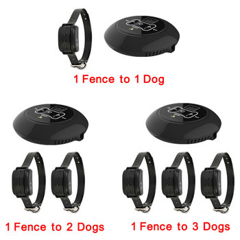 Electric Pet Fence Dog Waterproof Electronic Training Collar Underground Fence Containment 1 to 1/2/3 dogs