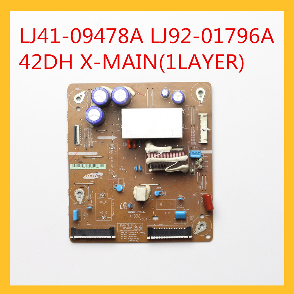 Plasma Board Lj41-09478a Lj92-01796a 42dh X-main(1layer) For Samsung Plasma X-main Board Pn43d430a3dxza Lj41-09479a Fast Color