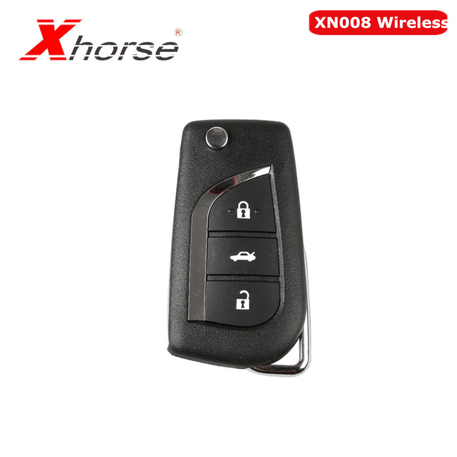 Xhorse VVDI2 For Toyota Type Wireless Universal Remote Key 3 Buttons XN008 Wireless Remote Key 1 Pc