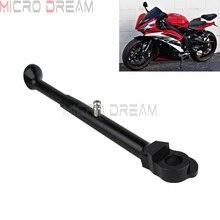 Для YAMAHA YZF R6 R6R YZFR6 YZFR6R 2006- Регулируемая мотоциклетная стойка для парковки Боковая поддержка ЧПУ боковая задняя стойка