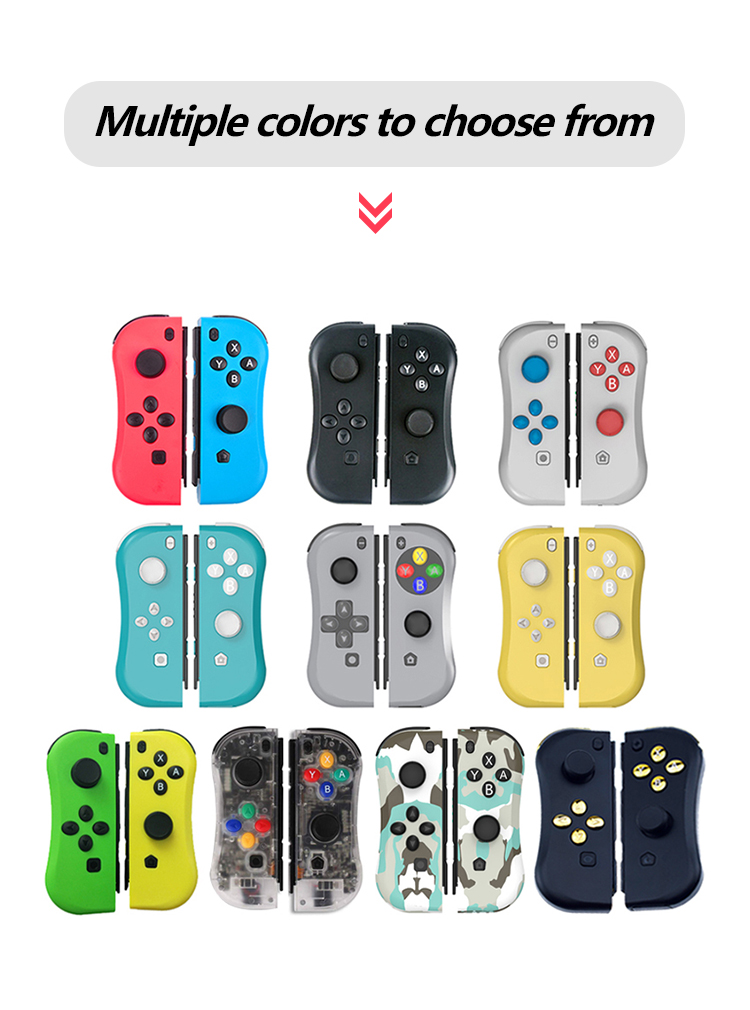 Bluetooth Left & Right Joy-con Game Controller Gamepad For Nintend Switch NS Joycon For Nintend Switch Console