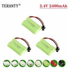 (M Model ) 2.4v 2400mah NiMH Battery For Rc toys Car Tanks T