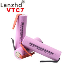2021 nowy 18650 3.7v bateria 35E oryginalne akumulatory 18650 litowo-jonowy 3300mAh VTC7 + DIY nikiel