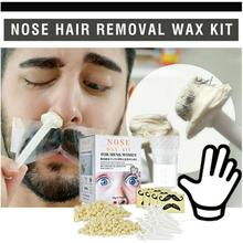Portable Hair Removal Nose Wax Kit Men Women Painless Beads Nose Hair Wax Ear For Nose Kit Tool Cosmetic Removal Nasal Waxi N4Q1