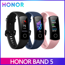 Huawei Honor Band 5 5i 4 4e Smart Band Blood Oxygen Smart watch AMOLED heart rage fItness sleep tracker Multiple Language