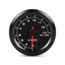 Автомобильный Универсальный термометр для выхлопных газов 52 мм, указатель для гоночных автомобилей, модификация деталей, инструмент, датчик температуры CS