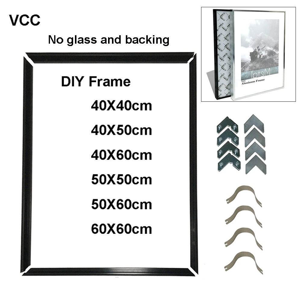 Рамка для фотографий «сделай сам», металлическая декоративная фоторамка 40 х50, 50 х60, 40 х60, без досок, без стекла