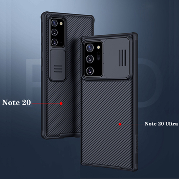 For Samsung Galaxy Note 20 5G Case Nillkin CamShield Pro Slide Camera Cover For Samsung Note 20 Ultra Lens Protection Case