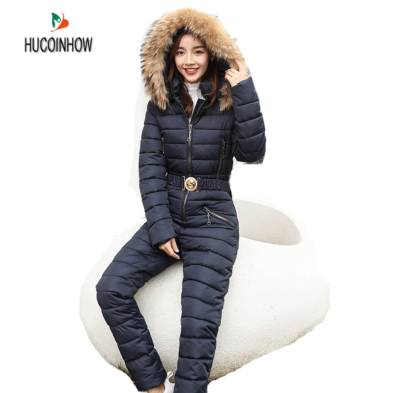 Snowboard Jacket Pant-Sets Bodysuits Ski-Jumpsuit Skiing Outdoor Women One-Piece Breathable
