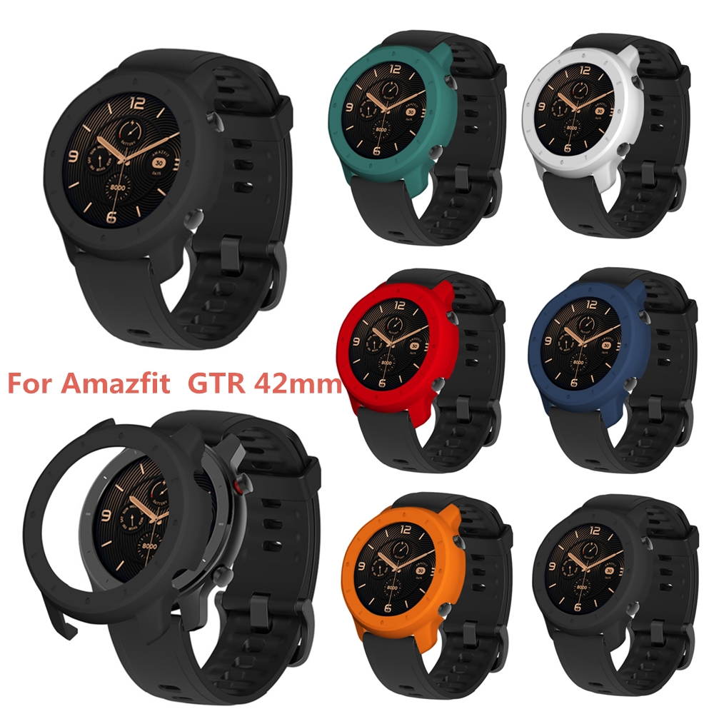 BEHAU Protective Case Cover For Xiaomi Huami Amazfit GTR 42mm Smart Watch Replacement Pc Protection Case  Accessories Durable