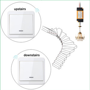 Image 5 - Default OFF Wireless Light Switch Kit No Wiring Remote Control Timer Receiver for Lamps Fans Appliances Ceiling Lights 433Mhz