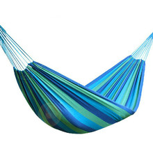 Travel Hammock Outdoor Swing-Bed Garden Camping Ultralight Beach Cotton Polyester Colorful