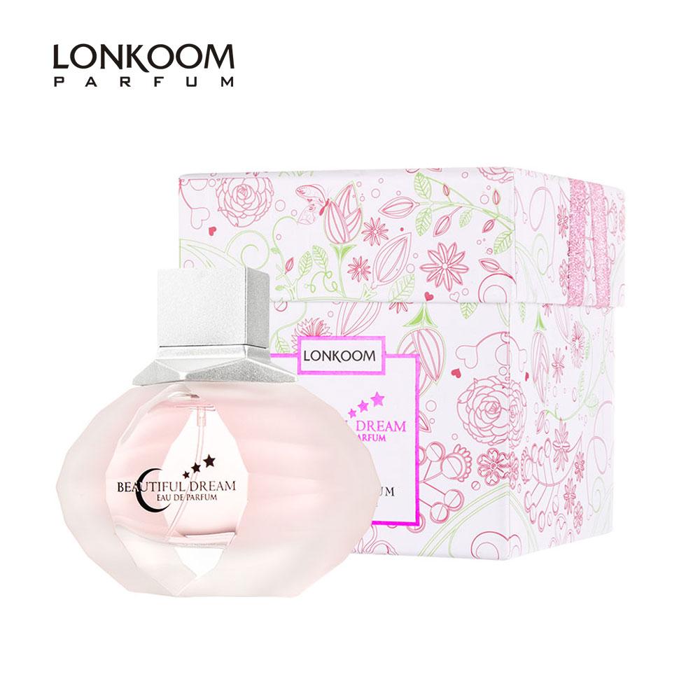 Summer Women Perfume Lonkoom Beautiful Dream Elegant Floral Women Perfume Original EDP Long-lasting Scent 100ml