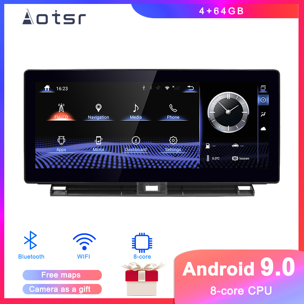 Android 9.0 Car DVD player GPS Navigation For <font><b>Lexus</b></font> NX200t <font><b>NX300h</b></font> 2014 2015 2016 Auto Radio stereo multimedia player headUnit image