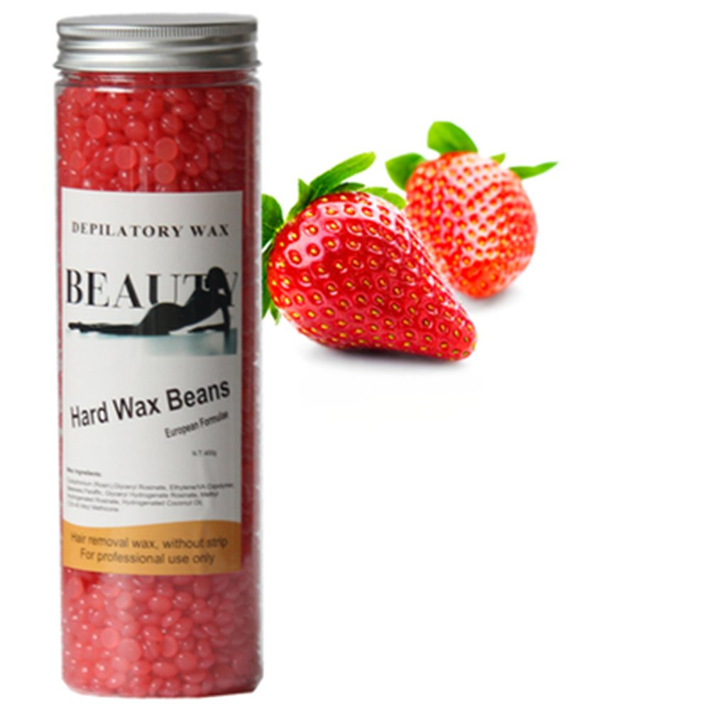 Solid Paper-free Hair Removal Wax Bean Depilatory Hot Wax Machine Special Wax Bean For Body Hair Removal Hot Wax Beeswax 400g