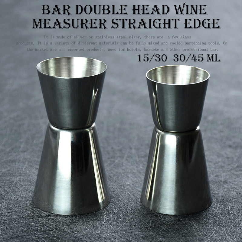 Stainless Steel Cocktail Measure Cup Double Jigger Bar Tool