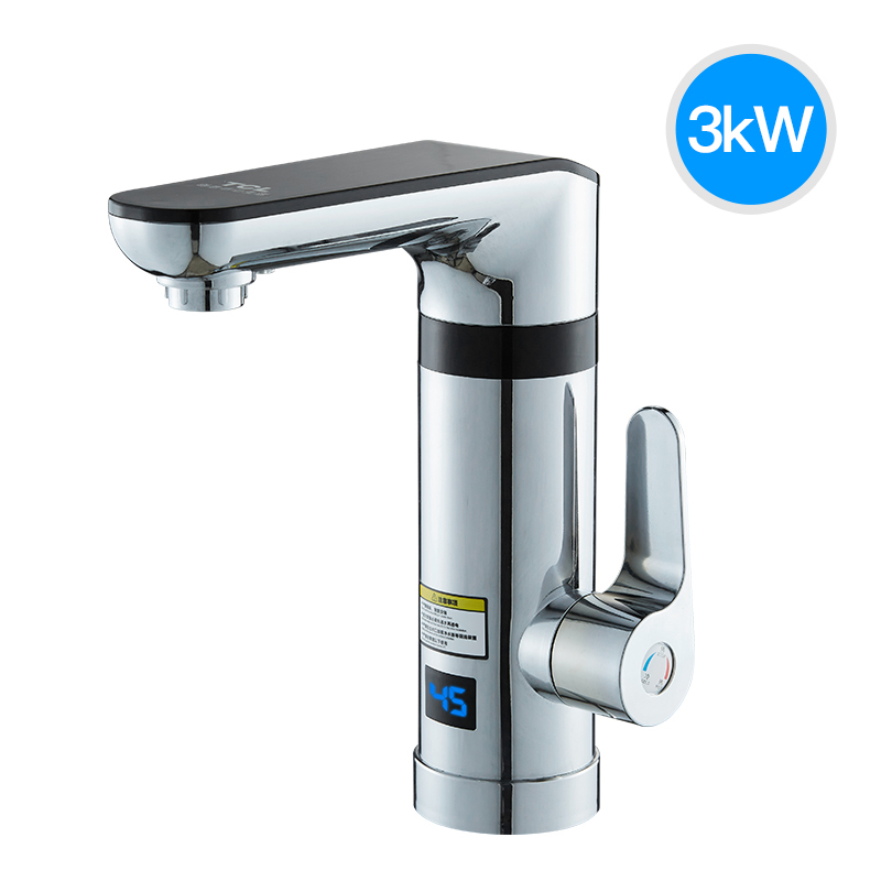 Electric Faucet Water Heater Tankless Water Heater Instant Faucet Kitchen Bathroom Small Temperature Display