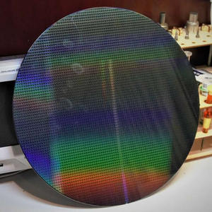 12/8/6 inch photolithography wafer circuit chip semiconductor wafer silicon wafer display teaching and research display
