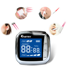 Medical Laser Therapy High Blood Pressure Smart Watch LLLT Laser Therapy Acupuncture Wrist Watch laser therapy home wrist type laser watch low frequency high blood pressure high blood sugar diabetes red light laser therapy