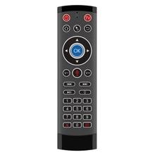 T1 PRO MAX 2,4G Wireless Air Mouse Gyro Voice Control Sensing Universal Mini Remote Controller für PC Android TV box