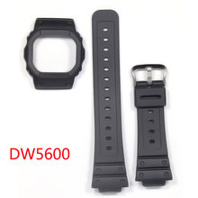 Спортивный силиконовый ремешок для casio g shock dw5600 водонепроницаемые