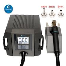 Szybkie TR1300A inteligentny stacja lutownicza na gorące powietrze komórkowy naprawa telefonu Hot wiatrówka rozbiórki narzędzie naprawcze do spawania