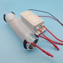 10G סיליקה צינור אוזון מחולל אוויר טיהור DC12V AC220V 110V