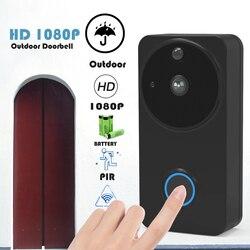 Ctvman telefone da porta de vídeo wi fi segurança intercom para casa ip portas vídeo visor alimentado por bateria inteligente sem fio campainha câmera