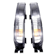 цена на Car flashing 1Pair DRL For Volkswagen Beetle 2011 2012 2013 2014 2015 LED DRL Daytime running light Fog lamp With Turn Signal