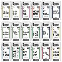 Custodie in TPU morbide per Xiaomi Mi 10T 11 Pro Poco X3 NFC Redmi Note 10 9 8 7 5 10S Pro 8T City board Pass Travel Coque Cover Etui