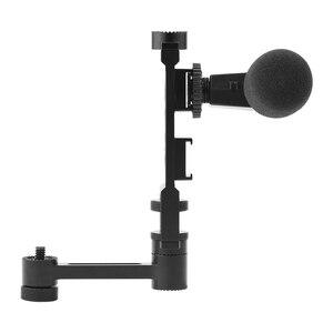 Image 3 - Soporte de teléfono portátil, brazo de extensión recto, accesorio de cámara de cardán de mano, para DJI OM 4 Osmo Mobile 2 3