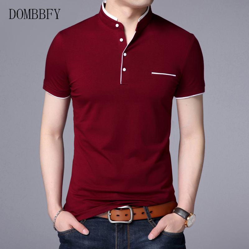 Tee-Shirt Golf Solid-Color Men's Cotton Tennis-Brand Plus-Size Summer 5XL Casual Breathable