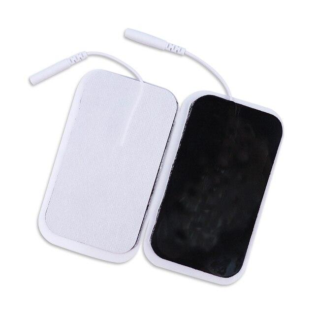 20/50 pcs/9x 5cm/2mm Plug réutilisable dizaines coussin délectrode pour impulsion numérique Acupuncture thérapie masseur/stimulateur musculaire électrique
