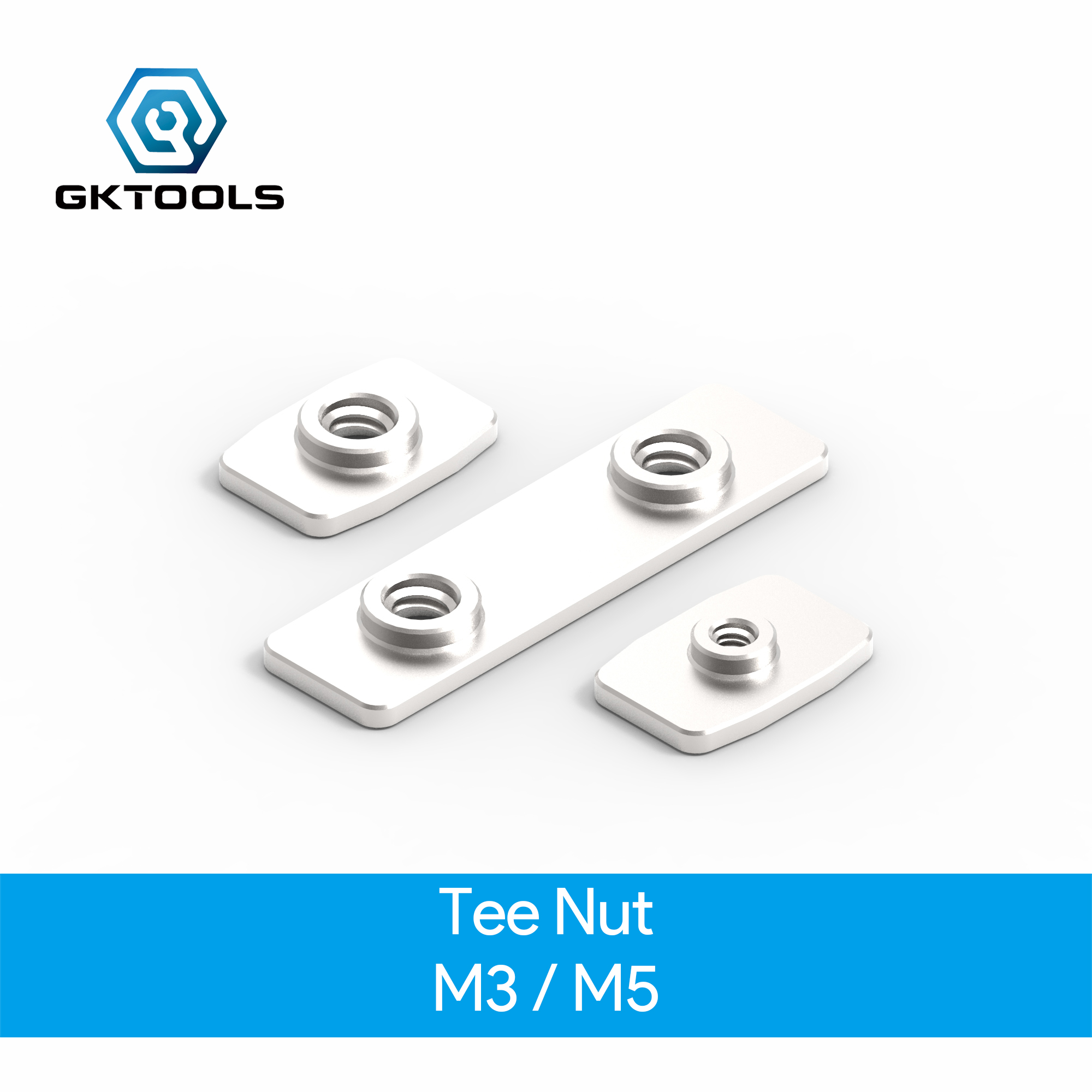 OpenBuilds  M3  M5 Tee Nuts Double Tee Nuts