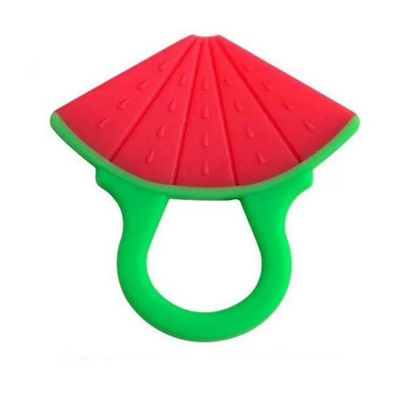 1 шт., Детские Силиконовые игрушки в форме фруктовых сосок, детская зубная щетка для сна, виноградный браслет, погремушки для новорожденных