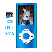 Best Selling 2020 Products Usb Mini Mp3 Player Lcd Screen Support 64GB Micro SD TF Card Player Lcd Wholesale MP4 Player