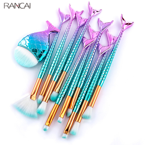 RANCAI 10/11pcs Makeup Brushes