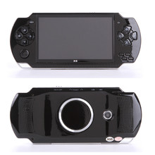 Prawdziwe 8GB HD 4 3 Cal wbudowane klasyczne gry przenośny odtwarzacz gier MP3 MP4 MP5 kamera wideo mini przenośna ręczna konsola do gier X6 tanie tanio COOLBABY 4 3 coolbaby-x6