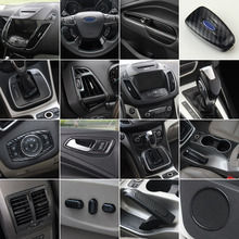 Car Styling Accessories Special External Interior Decorative Sticker Trim Case For Ford KUGA ESCAPE 2013 2019
