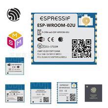 (2MFlash) ESP-WROOM-02U/02D AIoT Espressif SoC ESP8266 2.4GHz Wi-Fi Module wireless/Transparent transmission/Serial port/SPI