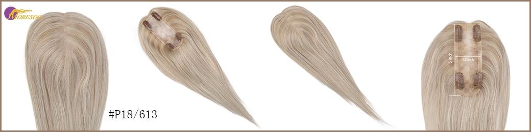 perucas de cabelo 8-18 polegada mono grampo no cabelo