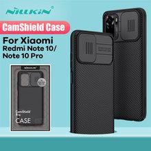 For Xiaomi Redmi Note 10 Pro Case NILLKIN CamShield Case Slide Camera Protection Back Cover For Redmi Note10 Protective Case