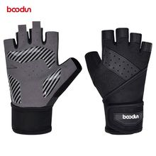 Перчатки для тяжелой атлетики мужчин и женщин с противоударной