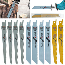 10Pcs Reciprocating Multifunctional Saw Blades Saber Saw Handsaw Saw Blade For Cutting Wood Metal Tube Power Tool Accessories